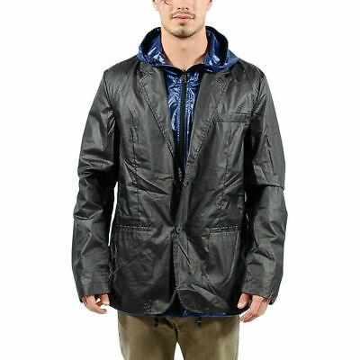 Men's PUMA x HUSSEIN CHALAYAN Reversible Jacket Black Blue $250