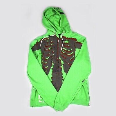 99%IS Skeleton Full Zip Hoodie END AND