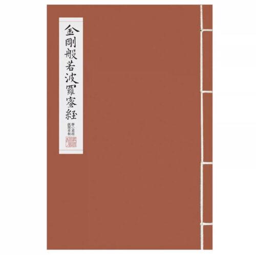 Chinese The Vajra Prajna Paramita Sutra calligraphy workbook US seller 金刚经 字帖
