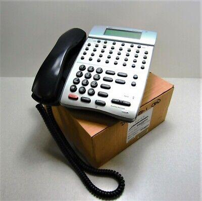 Nec Dtr-32d-1 Black Push Button Desk Telephone