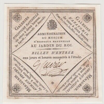 Georges Cuvier Autograph - French Zoologist And Palaontologist