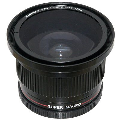 Agfaphoto Super Macro Fisheye Lens For Sony Slt-a57k Slt-a57