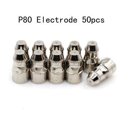 Plasma Electrode For P-80 Lotos Ltp8000 Igbt 80a Cutter Torch Pkg-50