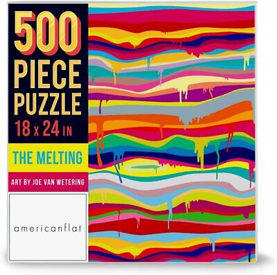 500 Piece Jigsaw Puzzle Game The Melting Artwork Joe Van Wetering Contemporary Puzzles