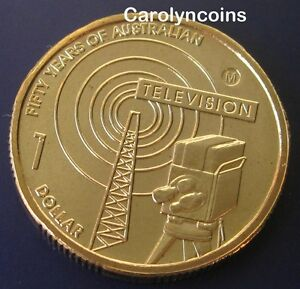 2006-1-Coin-UNC-50-Years-of-Australian-Television-Dollar-M-Melbourne-Mintmark