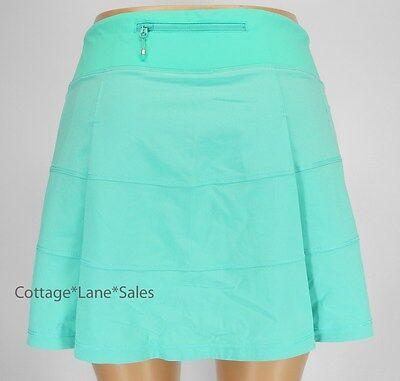 NEW LULULEMON Pace Rival Skirt TALL 2 Bali Breeze NWT Run Tennis Golf Train
