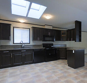 Spacious modular home with skylights! Covington model