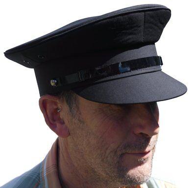 Grey chauffeur style hat - Size 60cm