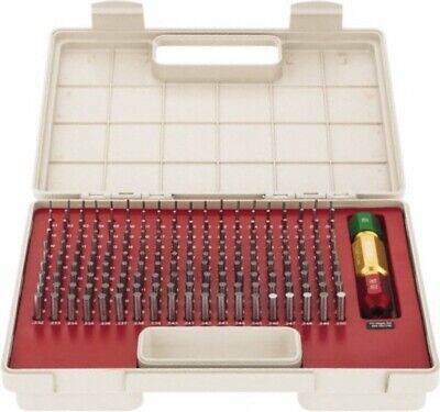 Pin Gage Set 190pc.s .061 - .250 Plus Tolerance Class Zz Bright Spi 22-155-6