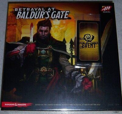 Betrayal At Baldurs Gate   Promo Board Game New Sealed Avalon Hill