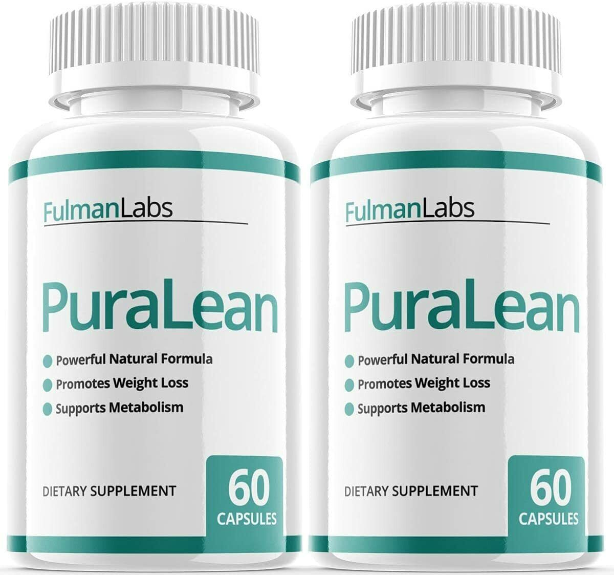 (2 Pack) Official PuraLean Pills, Advanced Formula, 2 Bottles, 2 Month Supply