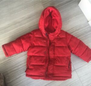 Red Old Navy Frost Free 2T Winter Coat $12
