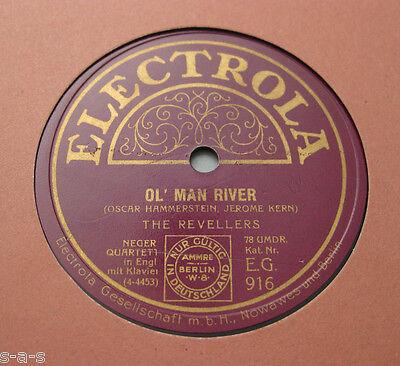 The Revellers - Ol' Man River / Oh Lucindy  ELECTROLA EG  916  (145)