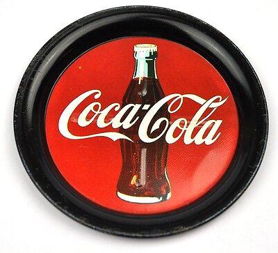 Coca-Cola Coke USA Metall Untersetzer Coaster sous-bock Ø 9 cm Logo Motiv 1