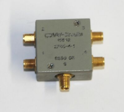 Mini-circuits Zfsc-4-1 Power Splitter Combiner 4 Way 1000mhz Coaxial 50 Ohm