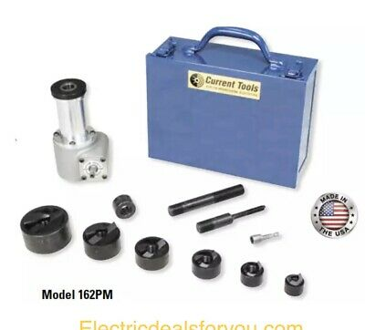 Current Tools 162pm Punch Driver Knockout Set Drill Driven Holemaking Driver Set