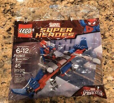 LEGO SUPER HEROES 30302 SPIDER-MAN GLIDER 45 Pcs TRU Exclusive Polybag MISB