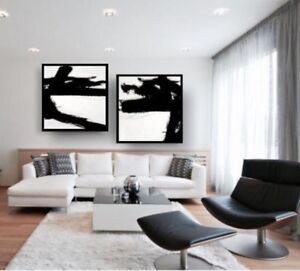 Modern Large Original Painting Abstract Art Condo Living