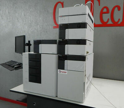Shimadzu 20a Hplc Front End With Autosampler And Rack Changer