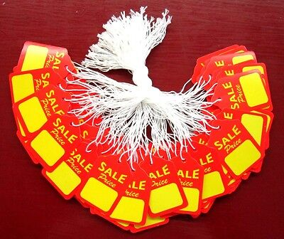 100 Large Strung Scallop Sale Price String Merchandise Jewelry And Display Tags