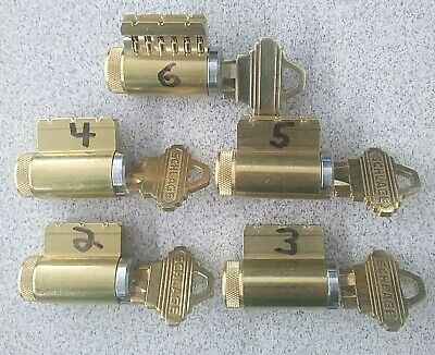 Practice Lock Set 2345 With 6 Pin Cutaway Locksmith Training Locksport