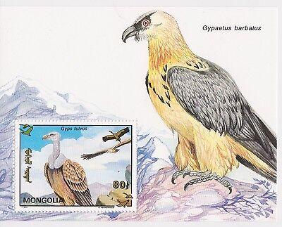 MONGOLIA - BIRDS, 1993 - SC 2119 S/S MNH