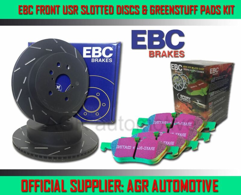 EBC FRONT USR DISCS GREENSTUFF PADS 296mm FOR LEXUS IS300H 2.5 HYBRID 2013-