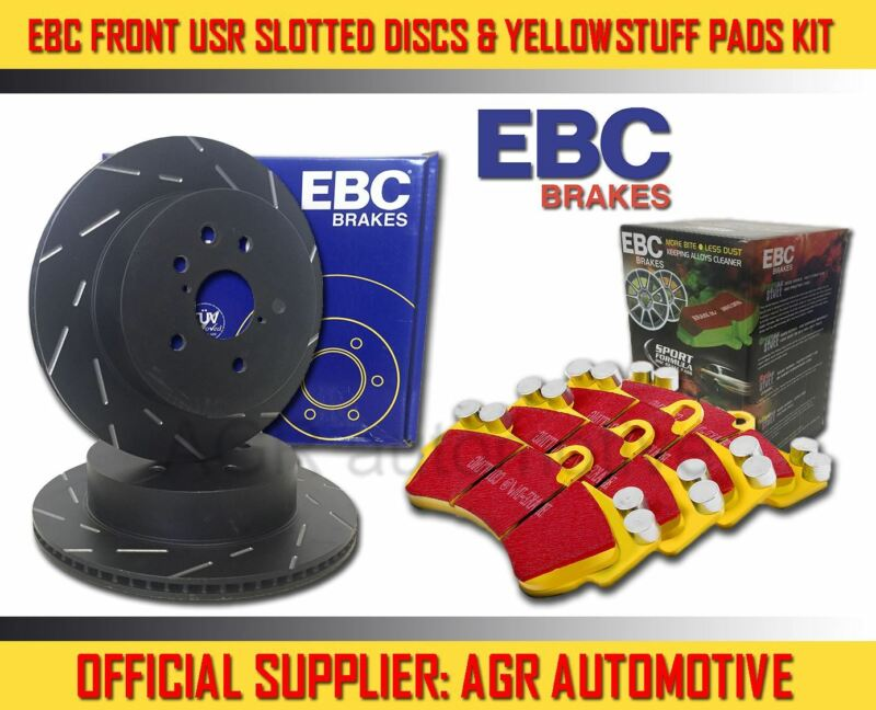 EBC FRONT USR DISCS YELLOWSTUFF PADS 296mm FOR LEXUS IS300H 2.5 HYBRID 2013-