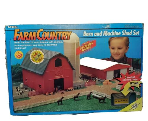 Ertl Farm Country Barn & Machine Shed Set - Factory Sealed