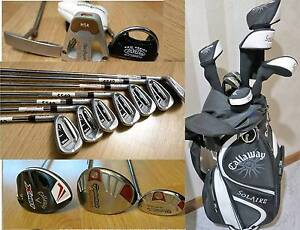 Mens ,Ladies -R & L.H  PING ,Calllaway  Irons, Putters & Clubs.. South Yarra Stonnington Area Preview