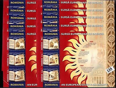// 10X ROMANIA 2009 - MNH - SPACE - ENERGY - ELECTRICITY