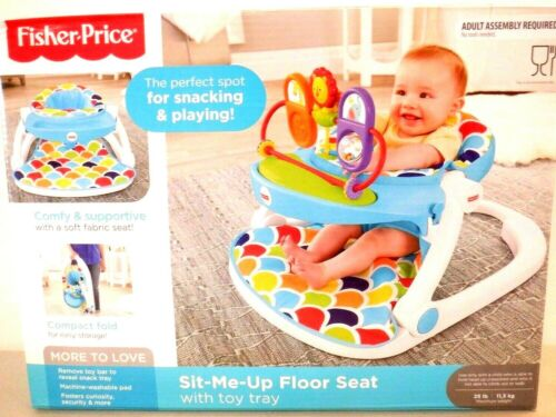 Fisher-Price  Sit-Me-Up Floor Seat with Toy Tray 3541