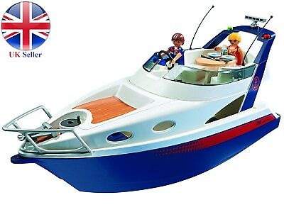 Playmobil 5205 Summer Fun Luxury Yacht, Floating Boat, Brand New Simulation Toy