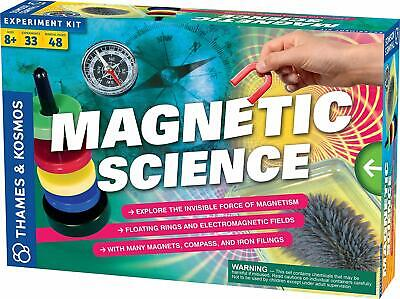 Science Kids Games (Magnetic Science Experiments Educational Build Games Toys Gift Kids)