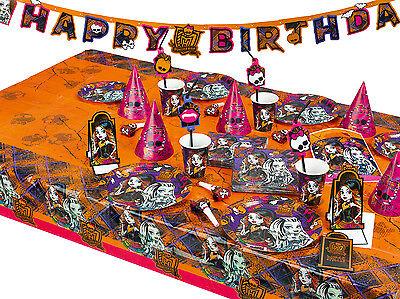 Monster High Cemetery Geburtstag Party Geschirr Kindergeburtstag Tisch Deko ()