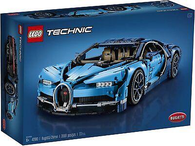 LEGO Technic 42083 BUGATTI Chiron, Blue, 3599 pcs NEW