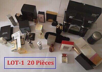 Lot de 20 pièces - miniature - Coffret  - échantillon -sur le parfum -Collection