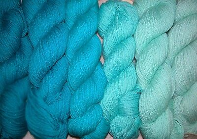 Caribbean Blue Family   New Paternayan Wool 3Ply Persian Yarn Needlepoint Crewel