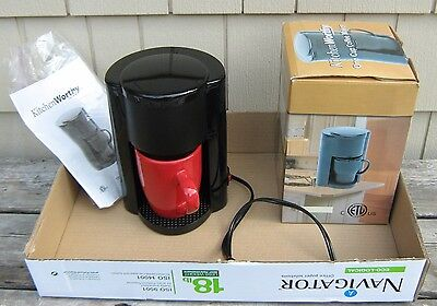 Kitchen Worthy One Cup Coffee Maker - Clean and Works fine - LOCAL PICK ONLY !!!