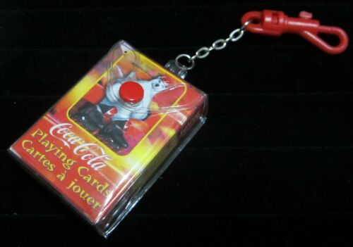 Coca-Cola Playing Cards - Keychain - Coke Polar Bear - 1999