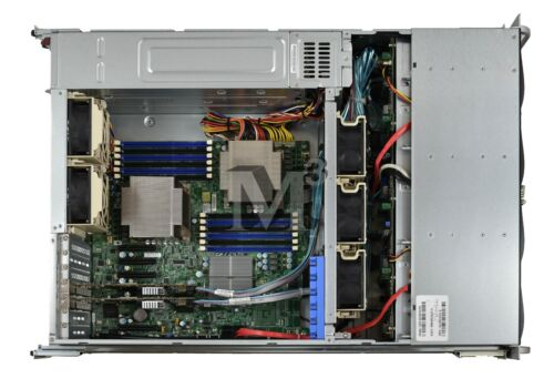 Supermicro 3U(CSE-836TQ)-720W Server Chassis (Black) with X8DTE-F Motherboard
