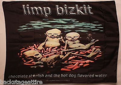 LIMP BIZKIT Chocolate Starfish Hot Dog Flavored Water Cloth Poster Wall Flag-New