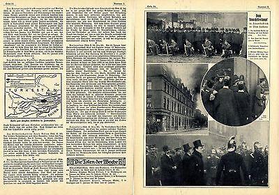 Verbrecherschlacht von Houndsditch (London) Bilddokumente von 1911