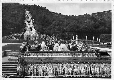 928) CASERTA, GIOCHI D'ACQUA DELLA CASCATA. VIAGGIATA NEL 1937.