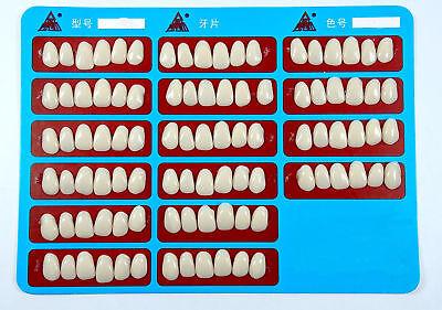 96pcs Dental Veneers Teeth Whitening Temporary Crowns Resin A3 Upper Anterior