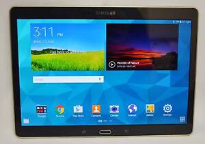 "SAMSUNG GALAXY BLACK TAB S 16GB SM-T800 10.5"" WIFI TABLET #718719 Ipswich Ipswich City Preview"