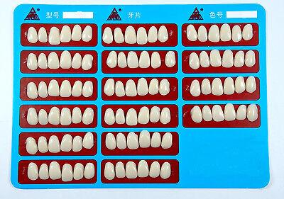 96pcs Dental Veneers Teeth Whitening Temporary Crowns Resin A2 Upper Anterior