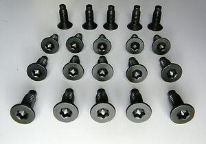 20 Each Jeep Wrangler TJ YJ CJ Windshield Frame Torx Screws / Bolts / Fasteners