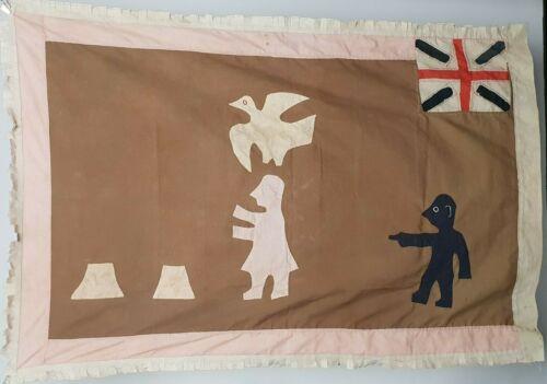 Asafo Flag.,Frankaa War Flag Fante /Fanti Ghana ,Applique,Vintage flag,Drapeau