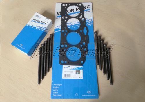 FOR AUDI A3 GOLF MK5 2.0 TDI 16V AZV BKD VICTOR REINZ CYLINDER HEAD GASKET BOLTS